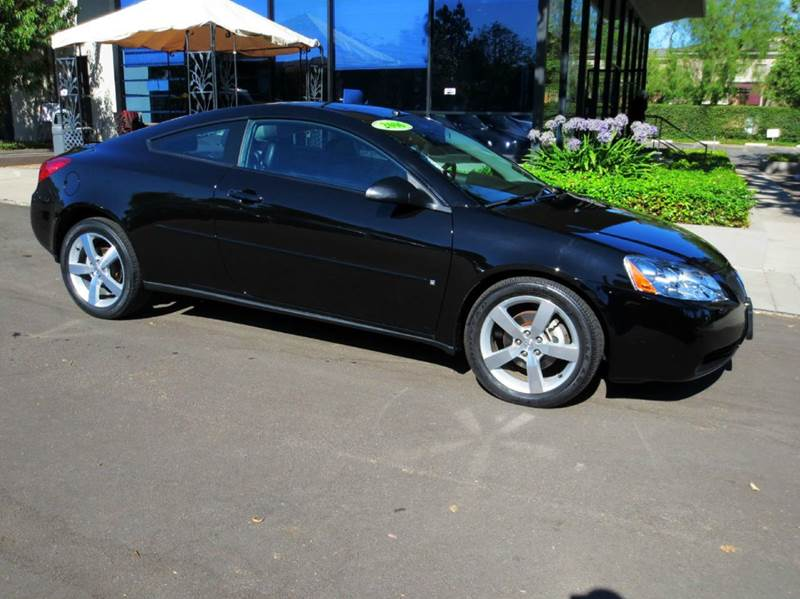 2006 PONTIAC G6 GTP 2DR COUPE black this low mileage gtp is well equipped with  power seat  l