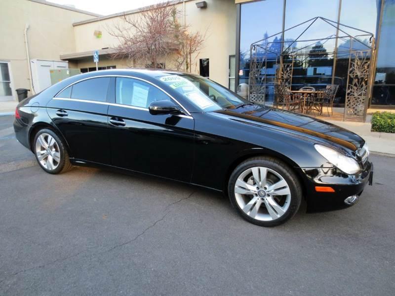2009 MERCEDES-BENZ CLS CLS550 4DR SEDAN black new year sale look no more simply elegant luxurio