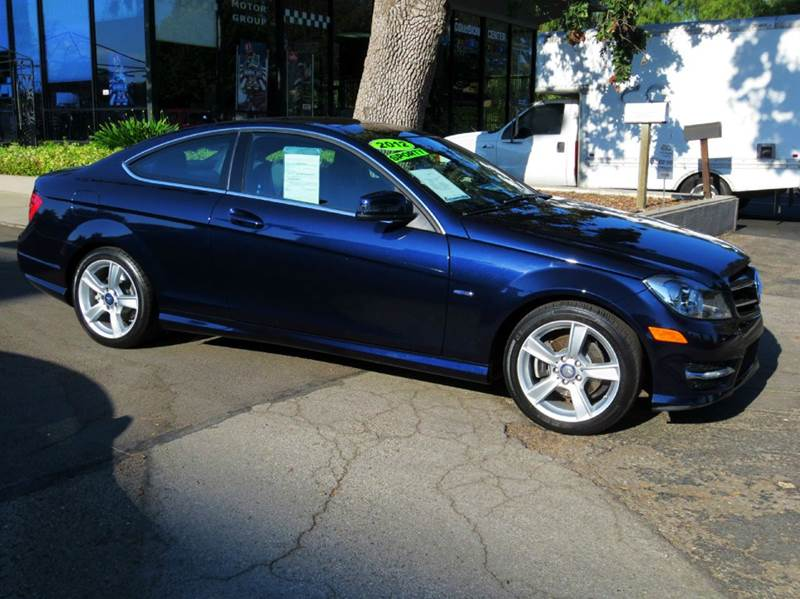 2012 MERCEDES-BENZ C-CLASS C250 2DR COUPE blue memorial day sale  nicely equipped with navigati