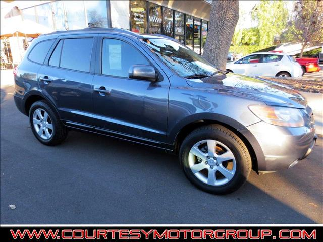 2007 HYUNDAI SANTA FE SE SPORT UTILITY 4D charcoal nicely equipped with  power windows and door