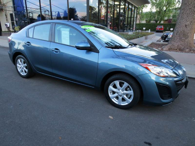 2011 MAZDA MAZDA3 I TOURING 4DR SEDAN 5A blue new year sale look no more extra clean well equi