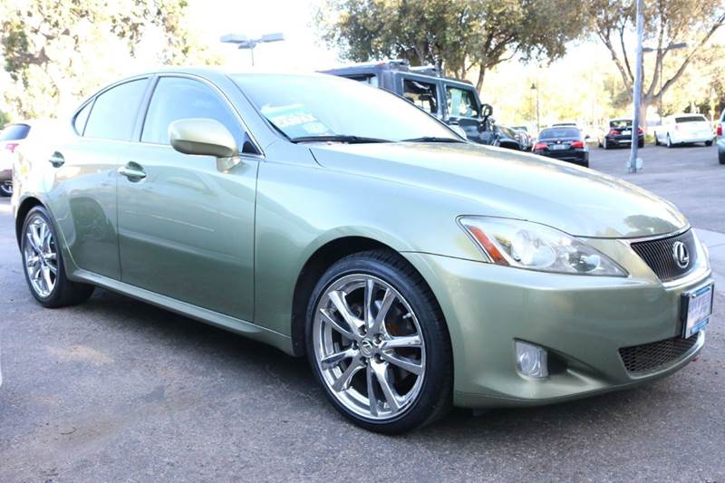 2006 LEXUS IS 250 BASE 4DR SEDAN WAUTOMATIC  1 owner extra clean a must see  luxury meets sp