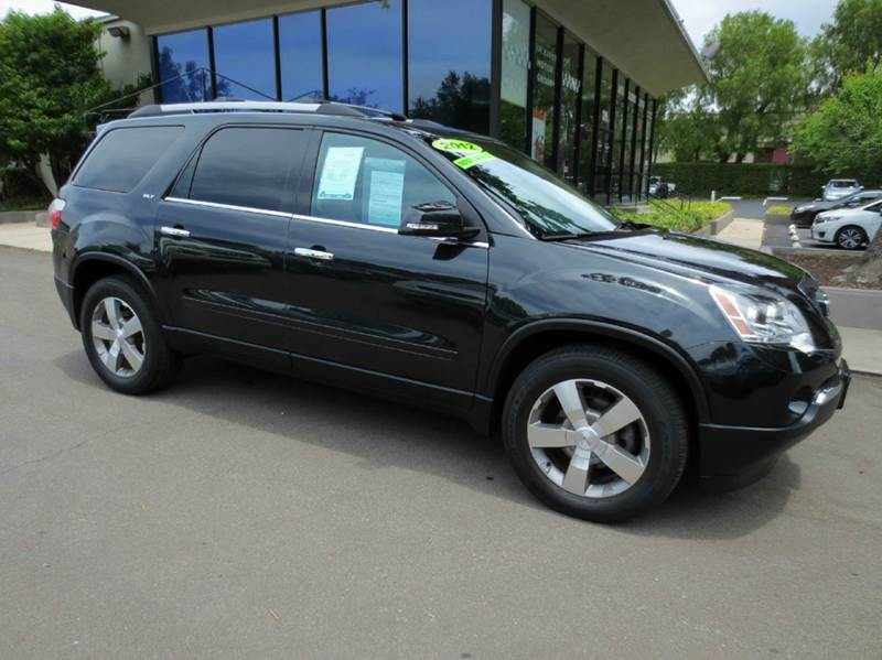 2012 GMC ACADIA SLT-1 AWD 4DR SUV black memorial day sale  elegantly equipped awd with navigati