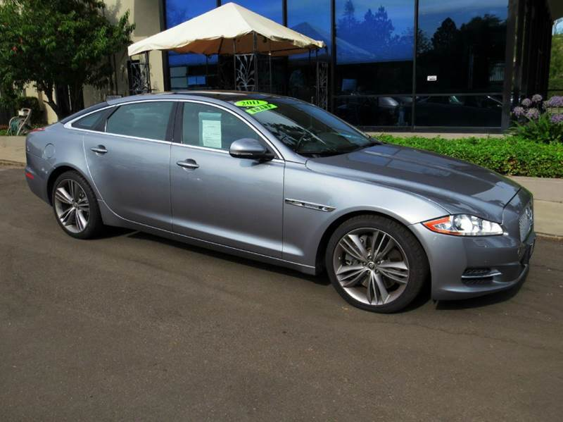 2011 JAGUAR XJL SUPERSPORT 4DR SEDAN gray pearl met well equipped with   20-inch wheels  adap