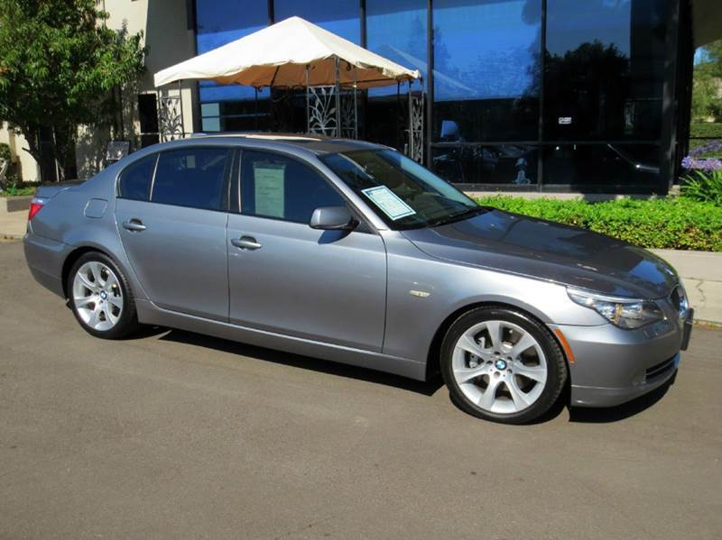 2010 BMW 5 SERIES 535I 4DR SEDAN charcoal equipped with  premium pkg  sport pkg  navigation