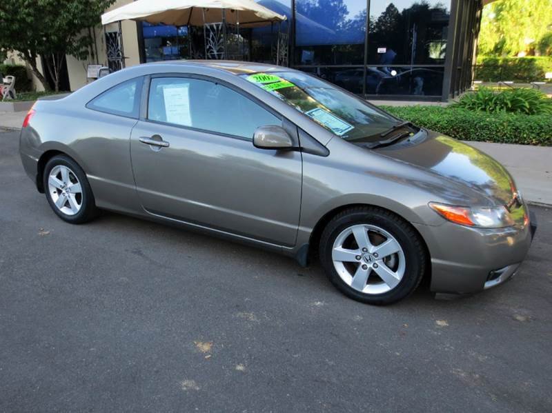 2007 HONDA CIVIC EX 2DR COUPE 18L I4 5A gray extra low mileage and simply a must see to apprec