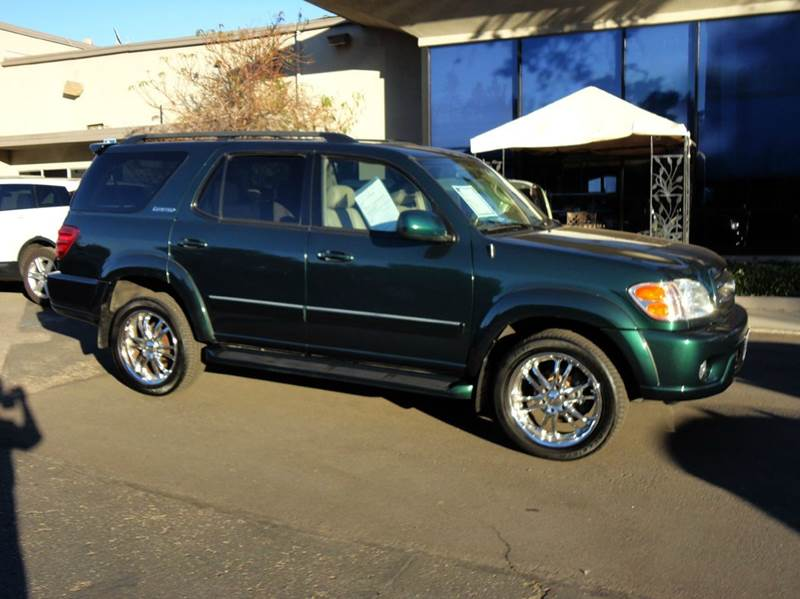 2004 TOYOTA SEQUOIA LIMITED 4DR SUV green look no more yes only 68k low miles rare find luxuri