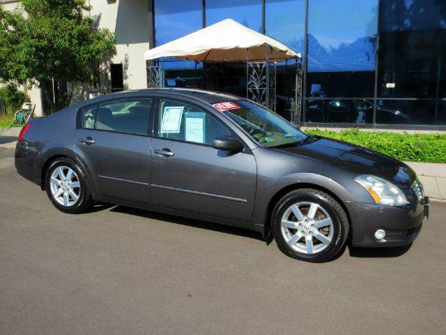 2006 NISSAN MAXIMA 35 SL 4DR SEDAN 35L V6 5A charcoal nicely equipped with leather moon roof