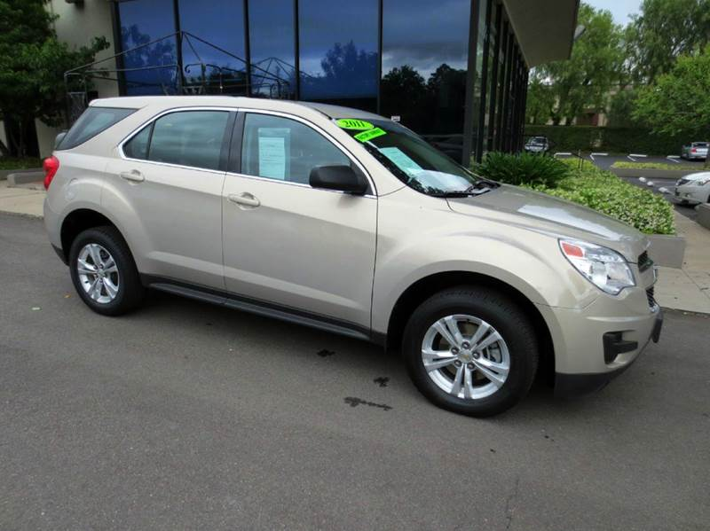 2011 CHEVROLET EQUINOX LS 4DR SUV gold mist memorial day sale  sharp color combo  nicely equip