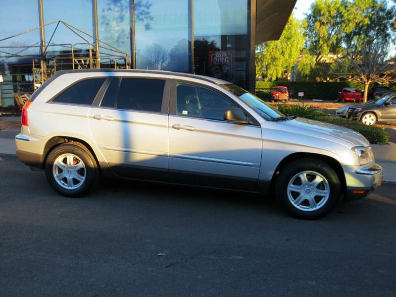 2006 CHRYSLER PACIFICA TOURING 4DR WAGON silver new year sale look no more sharp with low milea