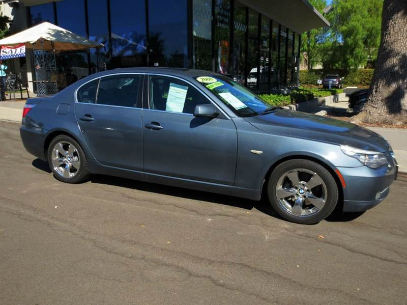 2008 BMW 5 SERIES 528I 4DR SEDAN LUXURY space gray nicely equipped with navigation premium pkg