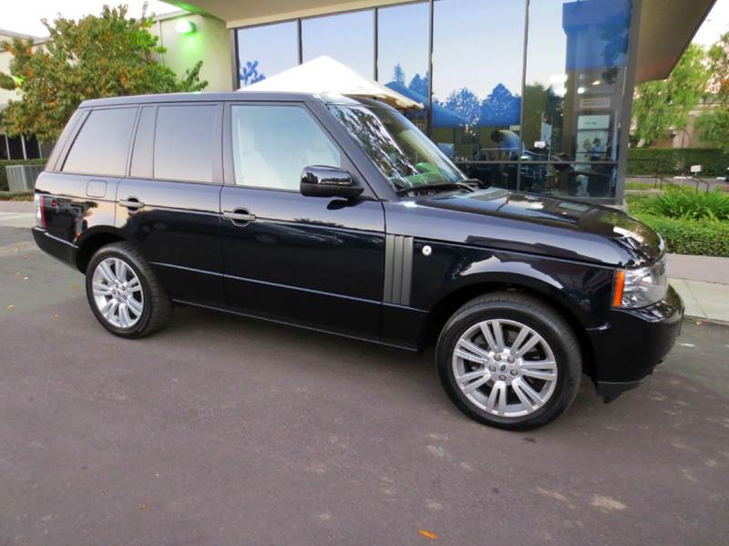 2010 LAND ROVER RANGE ROVER HSE LUX 4X4 4DR SUV buckingham blue luxury pkg  rear entertainment d
