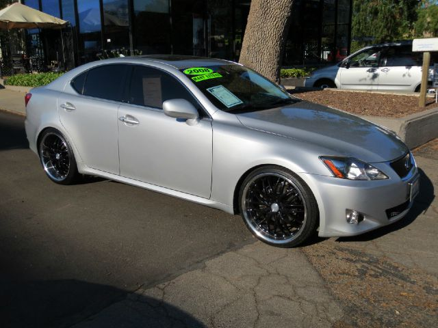 2008 LEXUS IS 250 4DR SEDAN 6A silver equipped with  dual power seats  heated and cooled fron