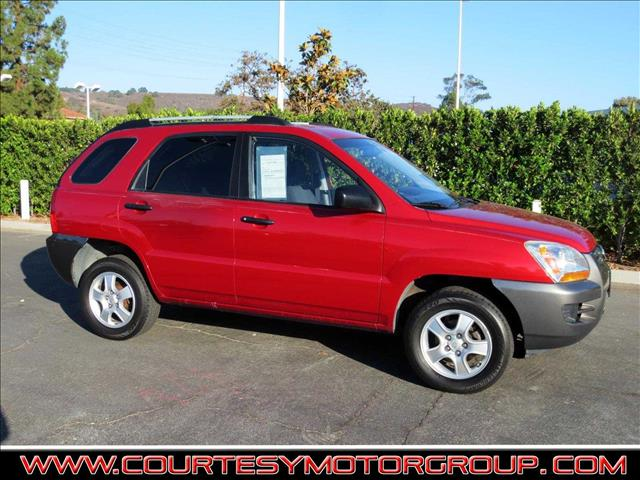 2008 KIA SPORTAGE LX 4DR SUV 2L I4 4A red majestic the sportage features a functional roomy an