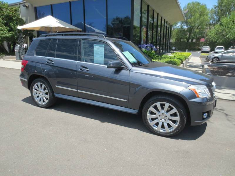 2010 MERCEDES-BENZ GLK GLK350 4DR SUV steel gray nicely equipped with panorama roof  90 day 30