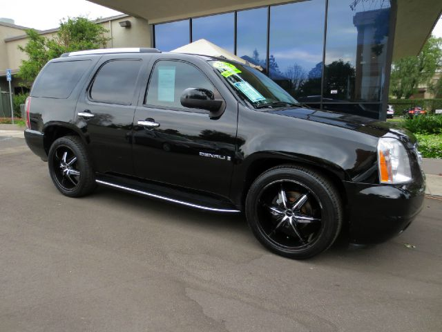 2008 GMC YUKON DENALI AWD 4DR SUV black well equipped with  premium sound  navigation  dvd s