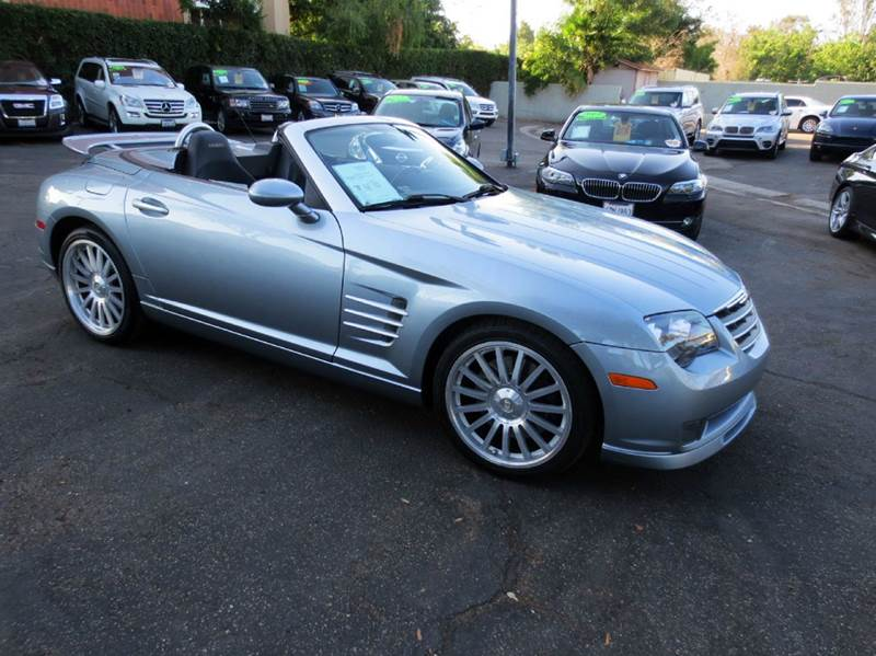 2005 CHRYSLER CROSSFIRE SRT-6 BASE 2DR ROADSTER sapphire blue rare find  chrysler srt  performa