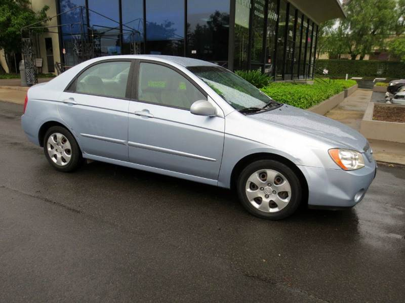 2006 KIA SPECTRA EX 4DR SEDAN WAUTOMATIC blue must see and drive to appreciate full power comf
