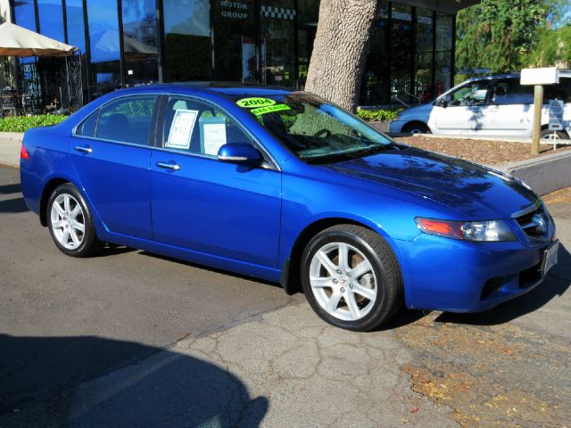 2004 ACURA TSX WNAVI 4DR SEDAN RWD blue equipped with  premium sound  navigation  power se