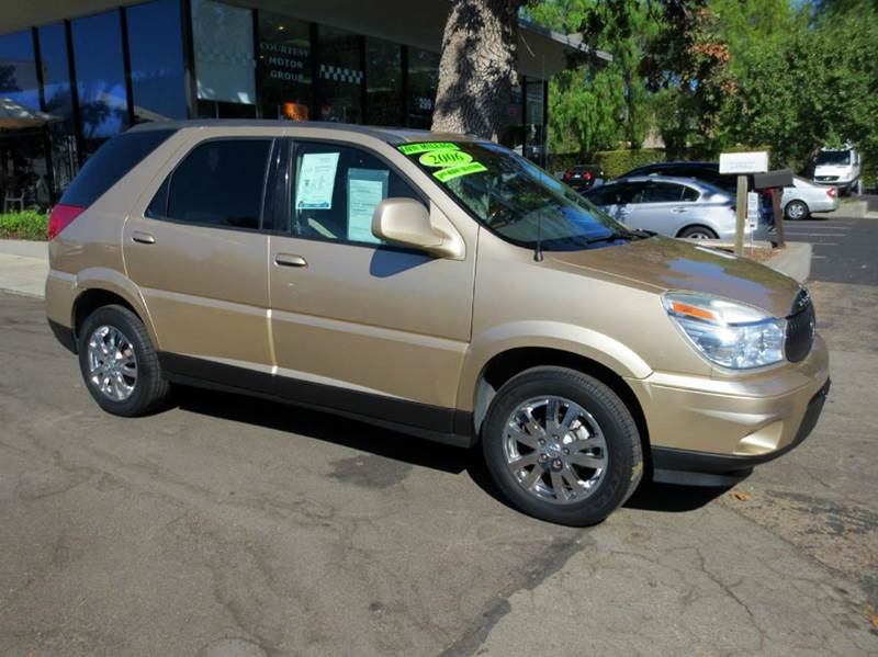 2006 BUICK RENDEZVOUS CXL 4DR SUV cashmere nicely equipped 1-owner with leather 3rd row seating