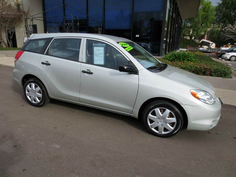 2004 TOYOTA MATRIX FWD 4DR WAGON silver extra clean low mileage must see full power fuel effi