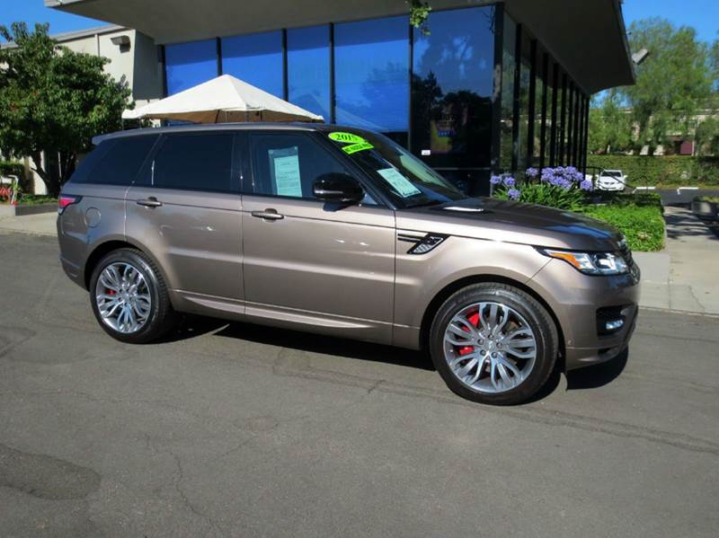 2015 LAND ROVER RANGE ROVER SPORT AUTOBIOGRAPHY 4X4 4DR SUV kaikoura stone nicely equipped with 5