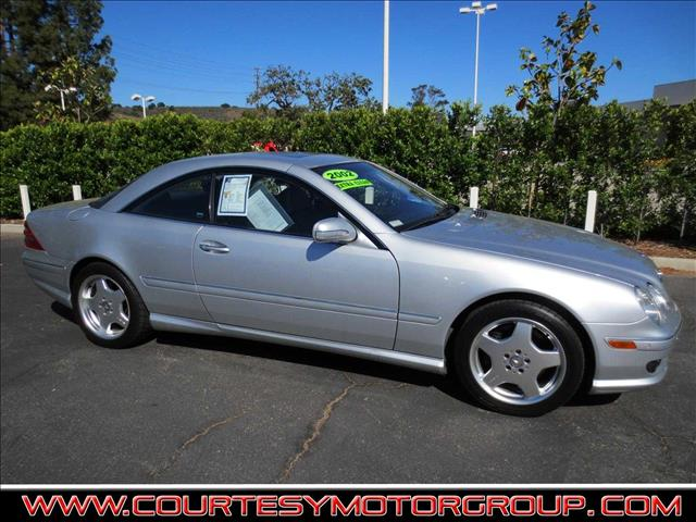 Used 2002 mercedes benz cl class cl55 amg 2dr in thousand for Mercedes benz of thousand oaks