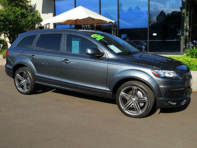 2014 AUDI Q7 30T QUATTRO S LINE PRESTIGE AWD daytona gray pearl  why pay more   no haggle pri