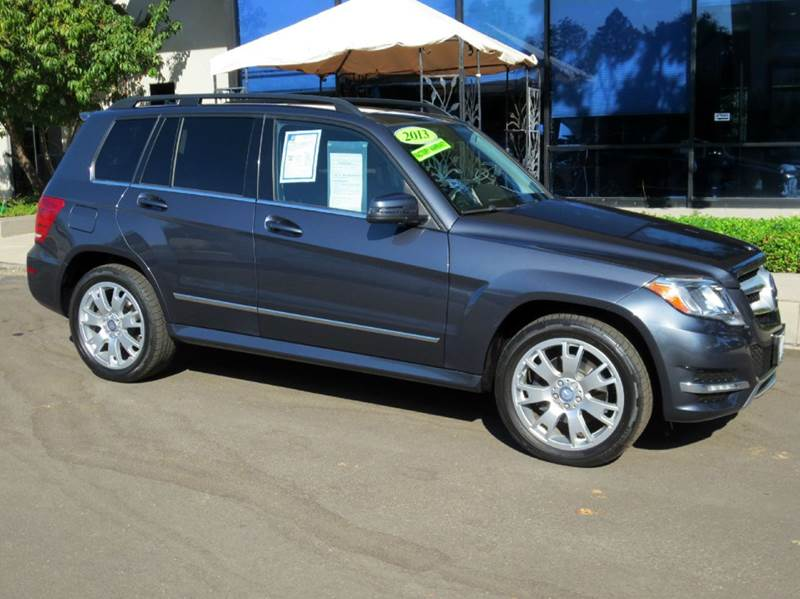 2013 MERCEDES-BENZ GLK-CLASS GLK350 4DR SUV steel gray met well equipped with  multimedia pkg