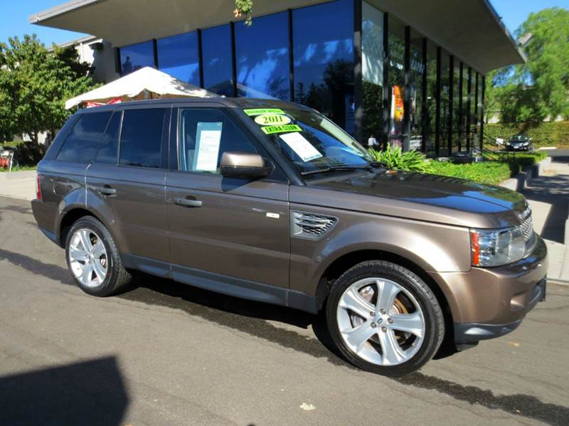 2011 LAND ROVER RANGE ROVER SPORT SUPERCHARGED 4X4 4DR SUV nara bronze  great color combo fanta