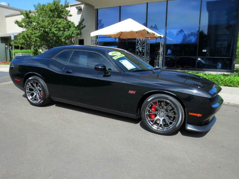 2015 DODGE CHALLENGER SRT 392 2DR COUPE black get the new look for the used price on this one owne