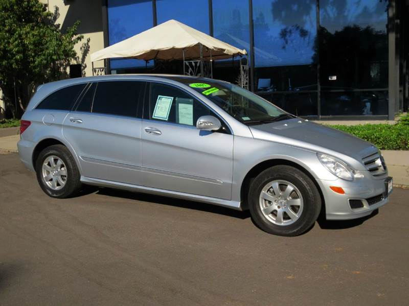 2007 MERCEDES-BENZ R-CLASS R350 AWD 4MATIC 4DR WAGON silver equipped with  premium pkg 1  harm