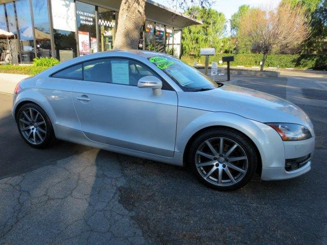 2009 AUDI TT 20T PREMIUM PLUS 2DR COUPE ice silver metallic nicely equipped with  leather  r
