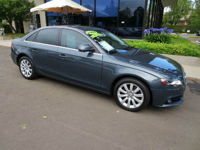 2009 AUDI A4 20T QUATTRO AWD PREMIUM PLUS 4D charcoal nicely equipped awd with navigation premi