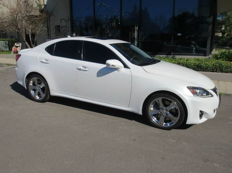 2011 LEXUS IS 350 BASE 4DR SEDAN white simply elegant remarkable performance and well equipped