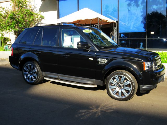 2012 LAND ROVER RANGE ROVER SPORT SUPERCHARGED 4X4 4DR SUV santorini black well equipped wirh  h