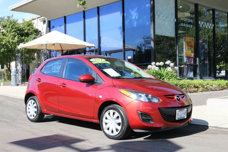 2014 MAZDA MAZDA2 SPORT 4DR HATCHBACK 4A zeal red sporty  great economy first car   equipped wi