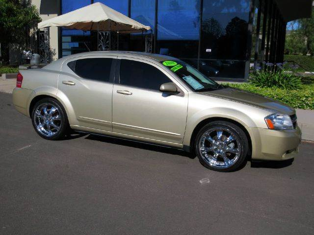 2010 DODGE AVENGER RT 4DR SEDAN champagne equipped with  mp3 multi disc  power seat  leath