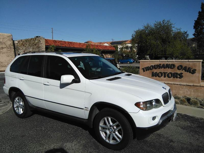 2004 bmw x5 awd 4dr suv in thousand oaks ca. Black Bedroom Furniture Sets. Home Design Ideas