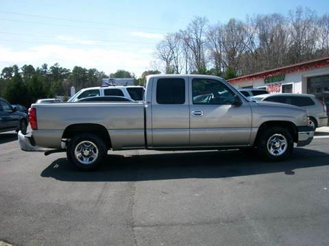 2003 Chevrolet Silverado 1500 for sale in Mooresville, NC