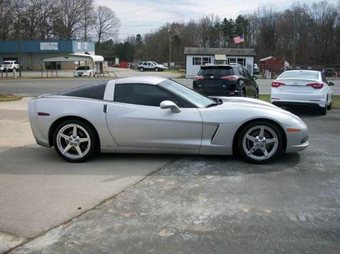2005 chevrolet corvette for sale for Star motors mooresville nc