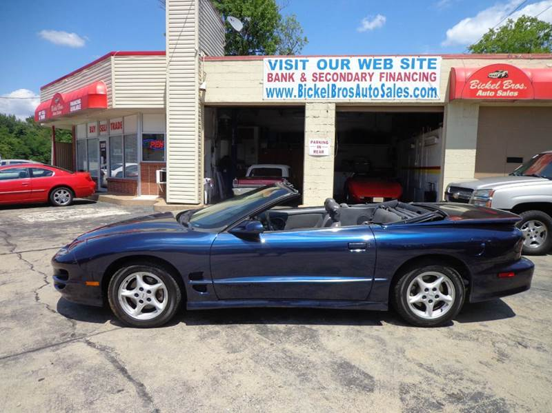 1998 pontiac firebird trans am 2dr convertible in. Black Bedroom Furniture Sets. Home Design Ideas