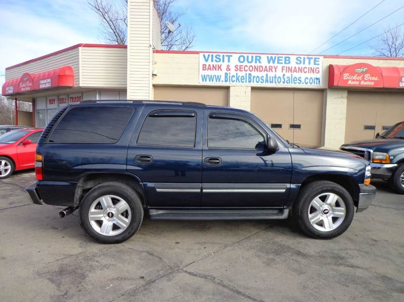 2005 chevrolet tahoe fleet 4wd 4dr suv in louisville ky bickel bros auto. Black Bedroom Furniture Sets. Home Design Ideas