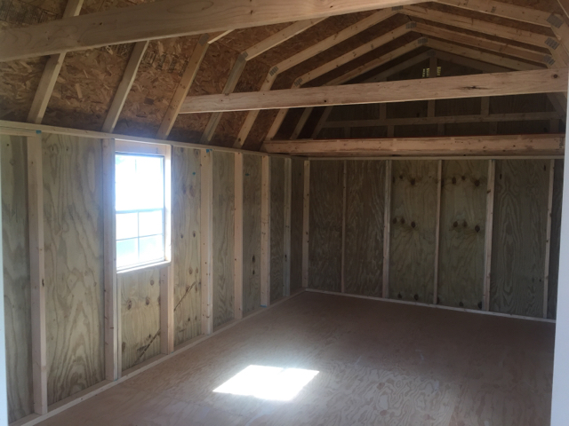 2015 Old Hickory Buildings Lofted Barn Deluxe Plahouse In