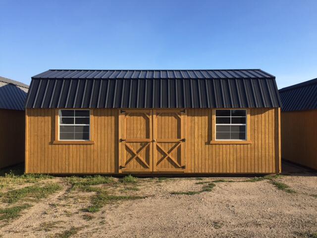 Side Lofted Barn : Old hickory buildings side lofted barn r l loft in