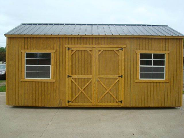 2015 OLD HICKORY BUILDINGS SIDE UTILITY 8' WALLS