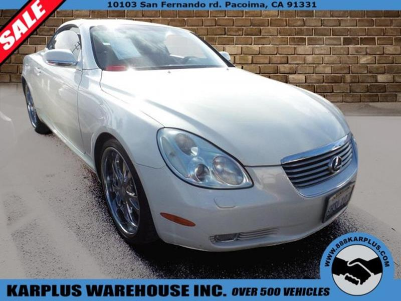 Lexus sc 430 for sale Anderson motors llc