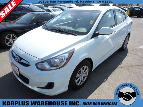 2014 Hyundai Accent for sale in Pacoima, CA