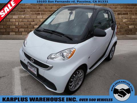 2014 Smart fortwo for sale in Pacoima, CA