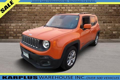 2015 Jeep Renegade for sale in Pacoima, CA